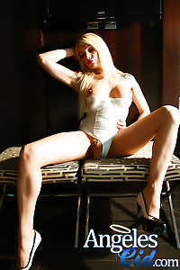 Blonde shemale hung big