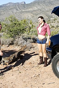 Brooke goes out 4-wheeling in the desert outside of Las Vegas when her truck breaks down. A jogger c