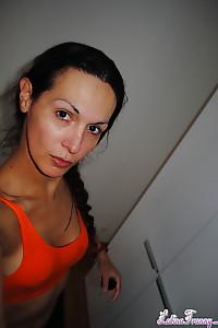 Nikki's seductive candids shot in Switzerland