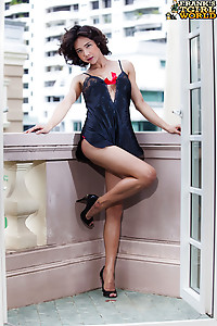 Sexy Paie is a hot tall Thai tgirl