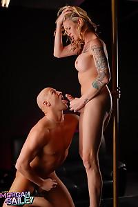 Morgan Bailey Pole dancer