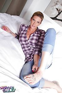 Hot candids of gorgeous Morgan Bailey