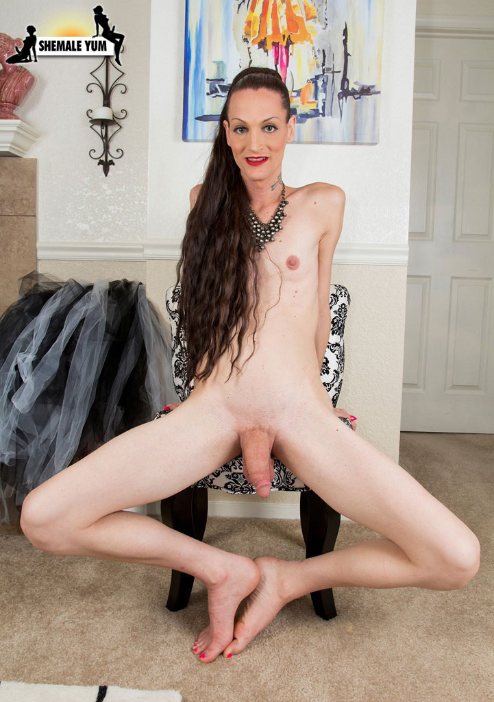 from Evan tranny long hair