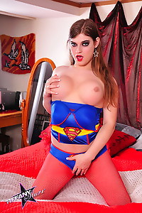 Supergirl Tiffany Spread Eagle