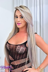 Leticia Rodrigues' Huge Cock is Fucking Mesmerizing