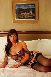 Sexy lingerie and a Massive tranny cock