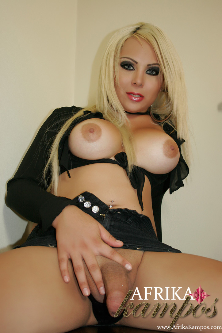 from Simon shemale blond busty
