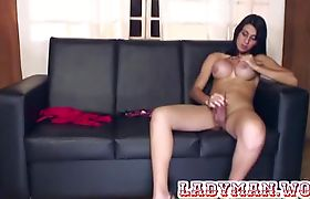 Blowjob and masturbated