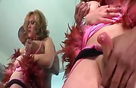 TS Hazel Tucker gets her cock sucked