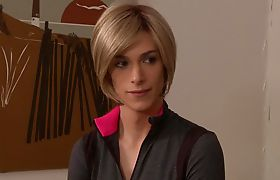 Magdalene St. Michaels loves TS Nina Lawless' dick