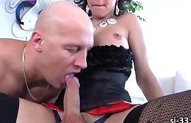Busty shemale Danika Dreamz ass pounded