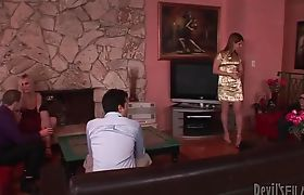 Juliette Stray Orgy Sex Party