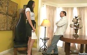 Hardcore Morgan Bailey Masturbates Her Big Cock