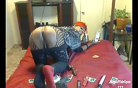 Tgirl Serves Dick And Ass