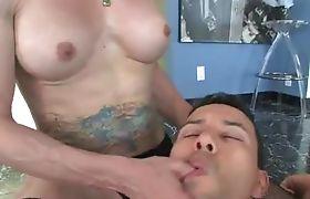 titty shemale idol Jasmine banged