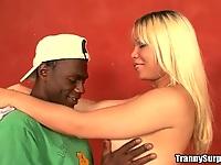 Tranny Carole meets jamaica guy