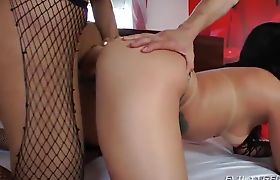 Female Fucked Hard by Shemale