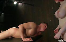 Sarina takes Parker to a secret dungeon, fucks him Part 8