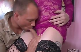 Brittany St. Jordan Strech Blowjob from John
