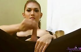 Sapphire Young Masturbating and toying