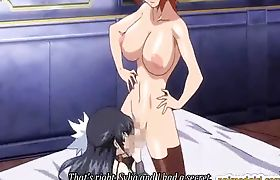 Cute hentai girl sixty nine oralsex and hot poking by shemale anime