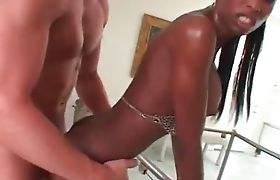 Natassia Dreams slams her ass on a dick