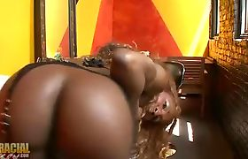 Ebony TS Ariel Sexy ass