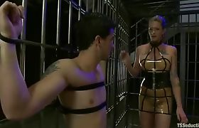 Morgan Bailey Dominates Her Little Man
