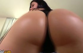 Hot tgirl jizz drenched