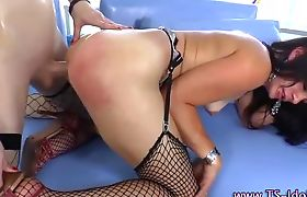 Hot toying shemales get off