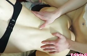 Fetish tgirls asspleasuring each other