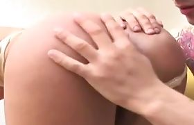 Shemale ass rimmed and rammed