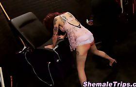 Fetish shemale bondage