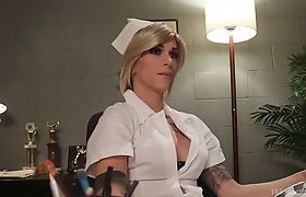 Nina Lawless Roleplaying Nurse